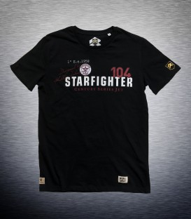 Limited Edition Ismael Jordá F-104 Starfighter military T-shirt