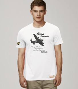 Military T-Shirt AVRO LANCASTER WWII