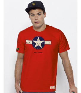 Military T-Shirt WWII Legends RETRO II USA WWII
