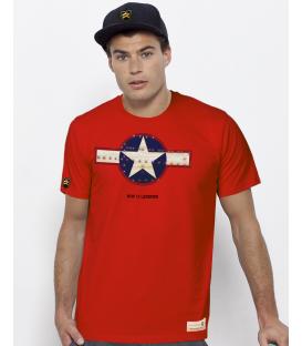 Military T-Shirt WWII Legends RETRO II USA WWII
