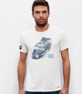 Military T-Shirt Frigate F-100