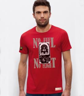 Military T-Shirt NO FUEL, NO FLIGHT
