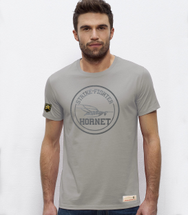 Military T-Shirt STRIKE-FIGHTER HORNET