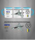 JAS 39 GRIPEN Swedish Air Force Mug