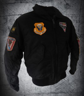B-2 CWU Black Jacket