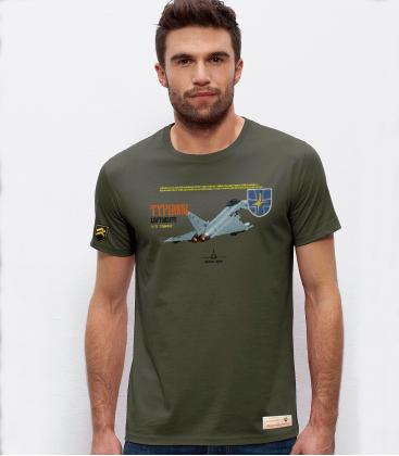 Military T-Shirt JG73 Typhoon Luftwaffe