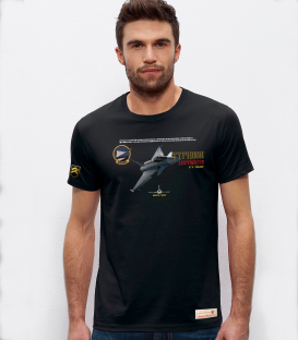Military T-Shirt JG74 Typhoon Luftwaffe