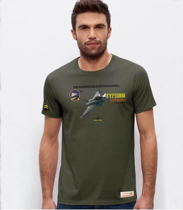 Military T-Shirt JG74 Typhoon Luftwaffe