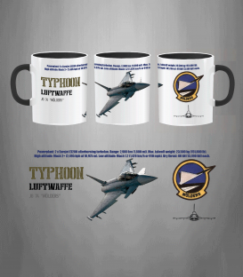 JG 74 Typhoon Luftwaffe Mug