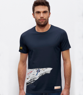 Military T-Shirt NAVY F-14 Tomcat