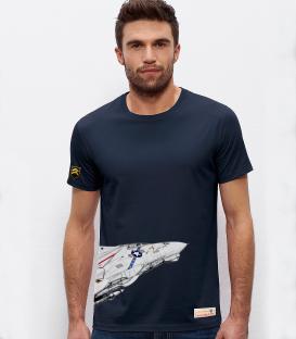 Military T-Shirt NAVY F-14 Tomcat